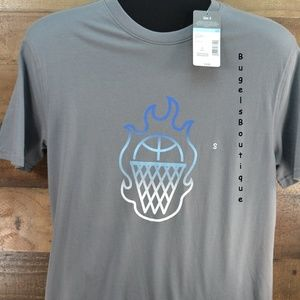 Everlast T-shirt Gray with Basket Theme Size S